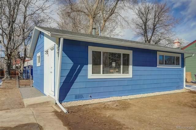 1621 S Yates Street, Denver, CO 80219 (#3183454) :: The Scott Futa Home Team