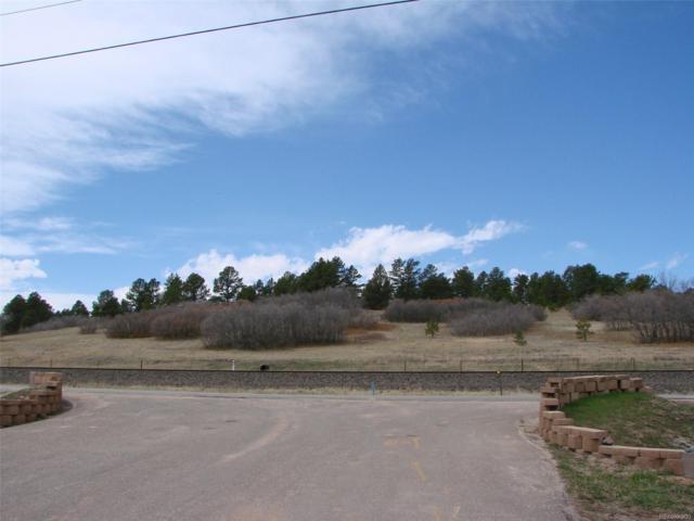 Lot 3 Spruce Mountain Road, Larkspur, CO 80118 (#3196904) :: The Peak Properties Group
