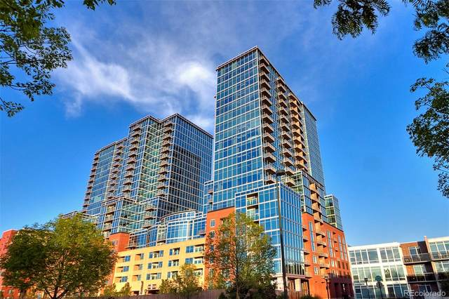1700 Bassett Street #1010, Denver, CO 80202 (#3199362) :: Chateaux Realty Group