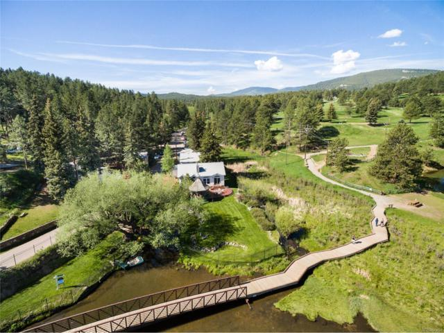 4689 S Blue Spruce Road, Evergreen, CO 80439 (MLS #3199980) :: 8z Real Estate