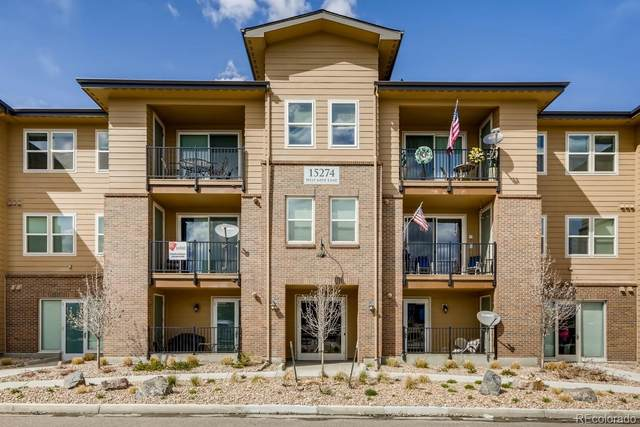 15274 W 64th Lane #203, Arvada, CO 80007 (MLS #3200278) :: Bliss Realty Group