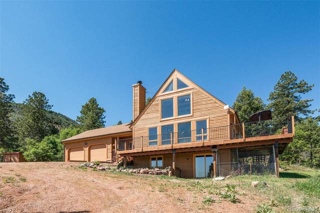 3156 Valley Park Drive, Larkspur, CO 80118 (#3200320) :: My Home Team