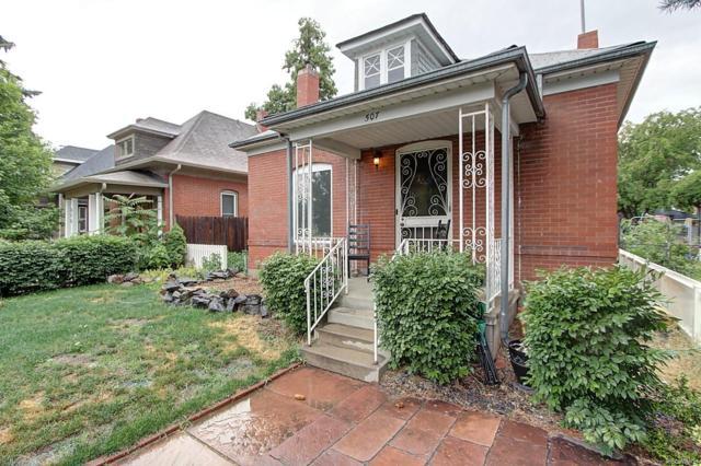 507 S Washington Street, Denver, CO 80209 (#3201832) :: The HomeSmiths Team - Keller Williams