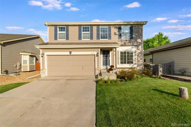 6339 Westview Circle Circle, Parker, CO 80134 (#3204450) :: The FI Team