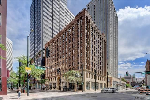 444 17th Street #706, Denver, CO 80202 (#3218516) :: The HomeSmiths Team - Keller Williams