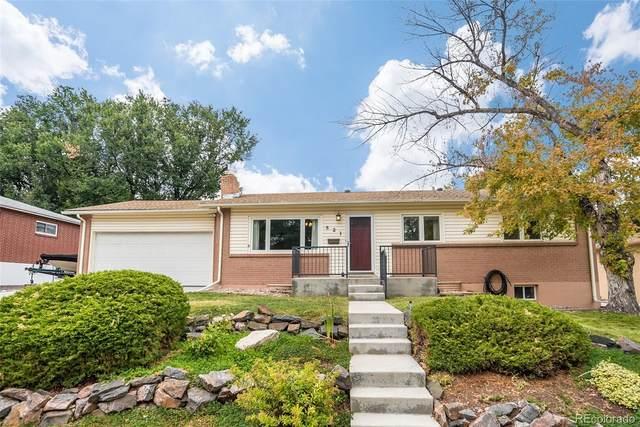 821 S Taft Street, Lakewood, CO 80228 (#3218938) :: Kimberly Austin Properties