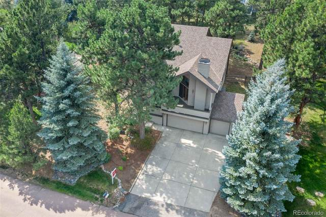 2377 Hearth Drive, Evergreen, CO 80439 (#3226250) :: Bring Home Denver with Keller Williams Downtown Realty LLC