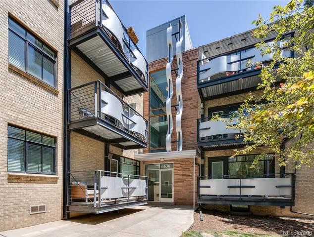 636 Washington Street #105, Denver, CO 80203 (#3226902) :: Briggs American Properties