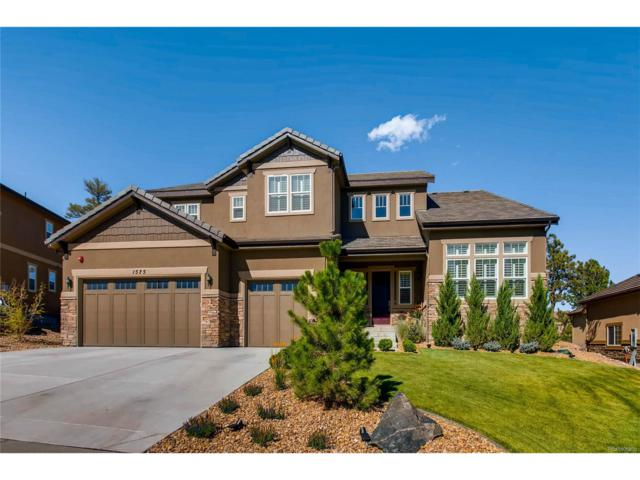 1575 Knotty Pine Way, Castle Rock, CO 80108 (#3227082) :: Colorado Team Real Estate