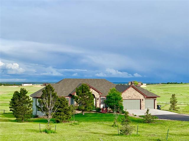 650 Coyote Trail, Elizabeth, CO 80107 (#3230500) :: The Heyl Group at Keller Williams