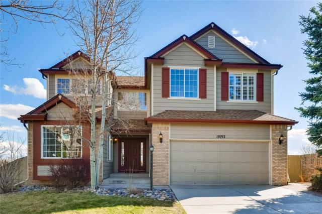 19192 E Crestridge Circle, Aurora, CO 80015 (#3231283) :: The Peak Properties Group