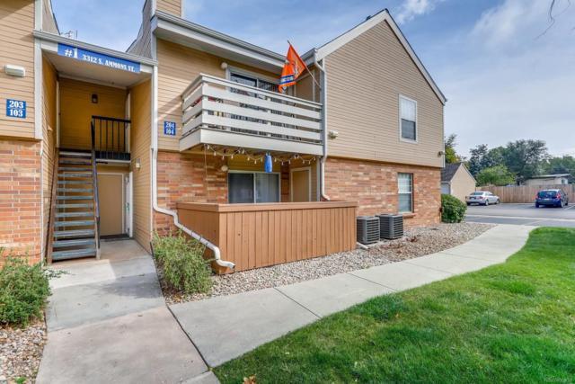 3312 S Ammons Street #104, Lakewood, CO 80227 (MLS #3232737) :: 8z Real Estate