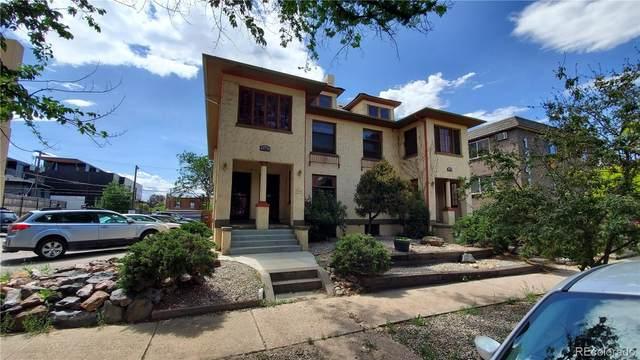 1331 N Ogden Street #1, Denver, CO 80218 (#3233777) :: Bring Home Denver with Keller Williams Downtown Realty LLC