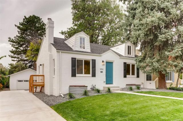 1051 Newport Street, Denver, CO 80220 (#3234514) :: The Galo Garrido Group