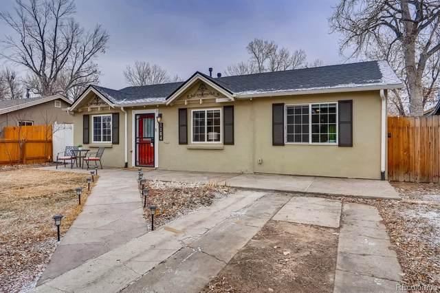 1164 Verbena Street, Denver, CO 80220 (#3235566) :: The Scott Futa Home Team