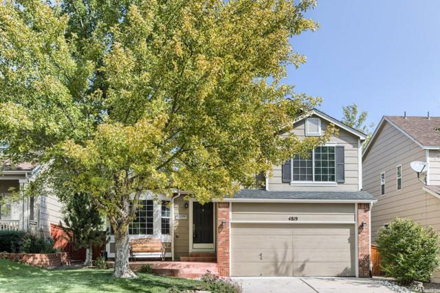 4819 Kingston Avenue, Highlands Ranch, CO 80130 (#3235625) :: The City and Mountains Group
