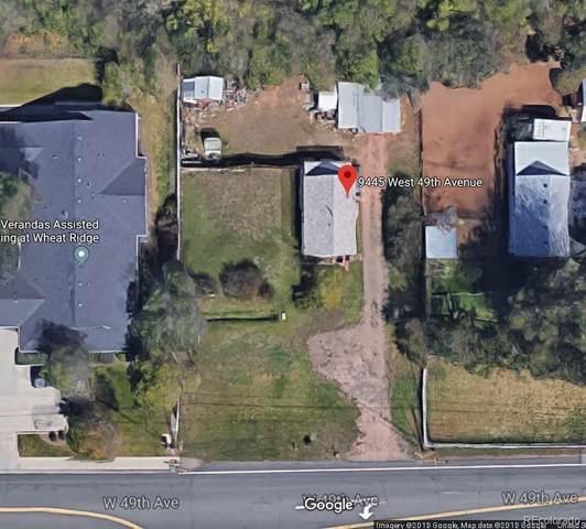 9445 W 49th Avenue, Wheat Ridge, CO 80033 (#3236912) :: Mile High Luxury Real Estate