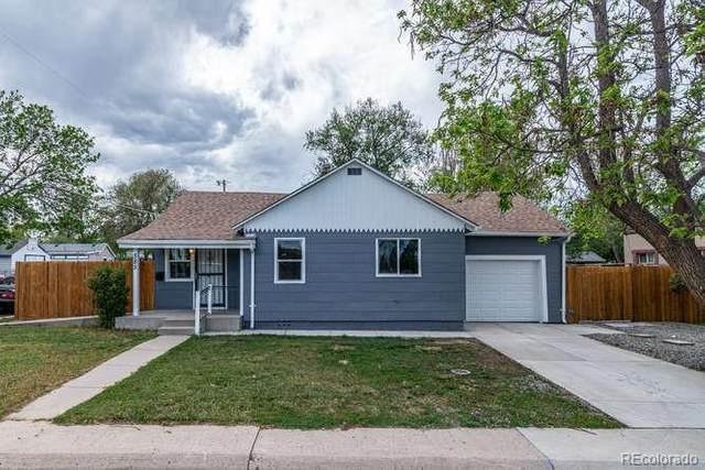 585 S Osceola Street, Denver, CO 80219 (#3238685) :: Colorado Home Finder Realty