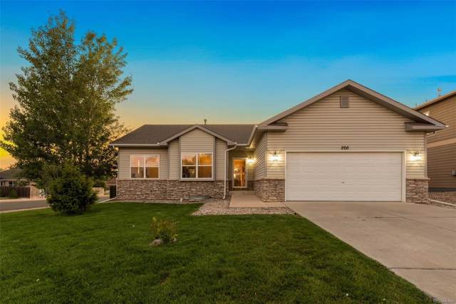 266 Basswood Avenue, Johnstown, CO 80534 (MLS #3239802) :: 8z Real Estate