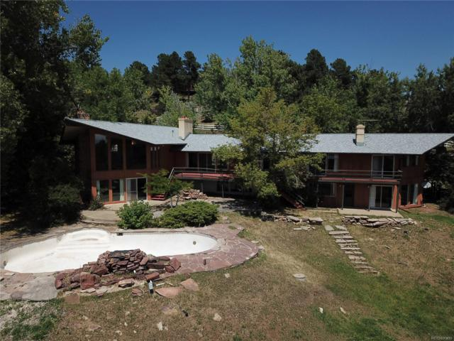 266 Lamb Lane, Golden, CO 80401 (#3245625) :: The City and Mountains Group