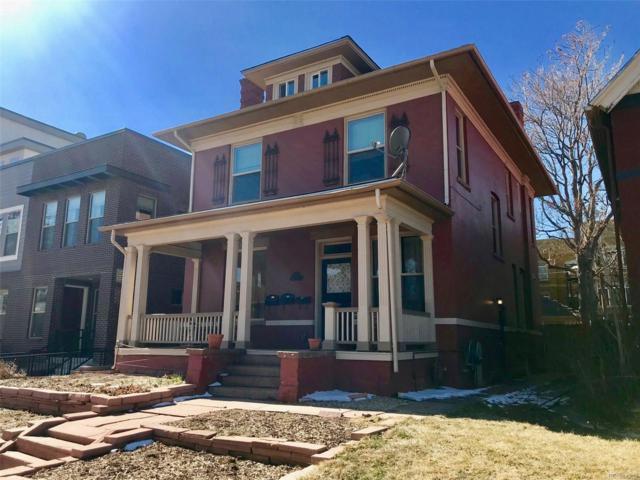 1757 Vine Street, Denver, CO 80206 (#3265781) :: Bring Home Denver