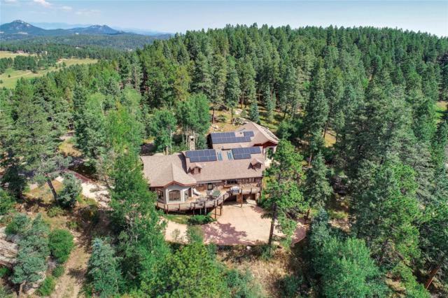 12753 Upper Ridge Road, Conifer, CO 80433 (#3266841) :: House Hunters Colorado