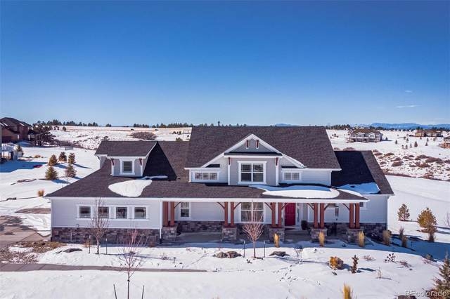 7871 Merryvale Trail, Parker, CO 80138 (#3274378) :: The Gilbert Group