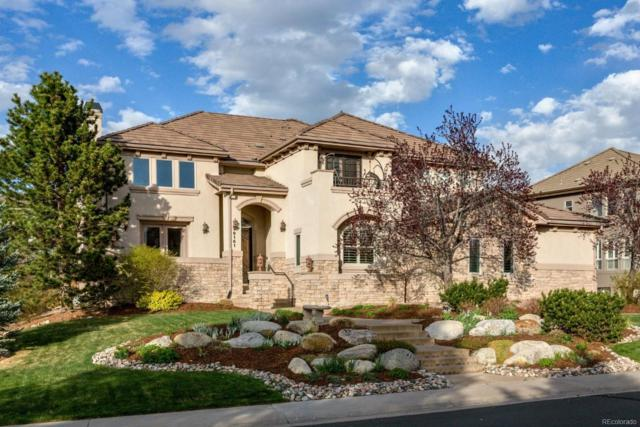9161 S Lost Hill Drive, Lone Tree, CO 80124 (#3275383) :: The DeGrood Team