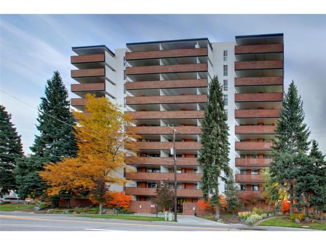 4570 E Yale Avenue #404, Denver, CO 80222 (#3275477) :: ParkSide Realty & Management