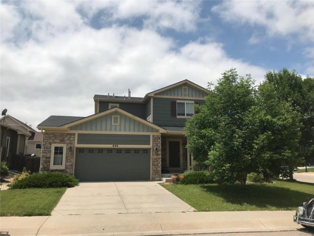420 Frontier Lane, Johnstown, CO 80534 (#3277638) :: Wisdom Real Estate
