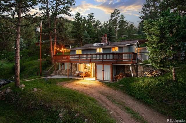 5525 Hiawatha Trail, Indian Hills, CO 80454 (#3284083) :: The Gilbert Group