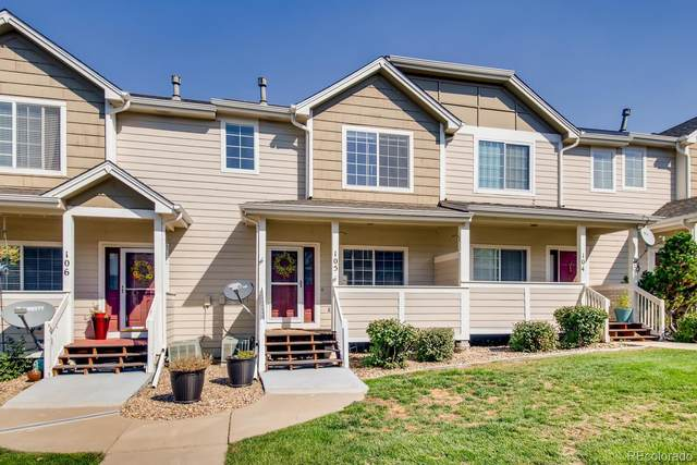 19246 E Idaho Place #105, Aurora, CO 80017 (#3284162) :: Bring Home Denver with Keller Williams Downtown Realty LLC