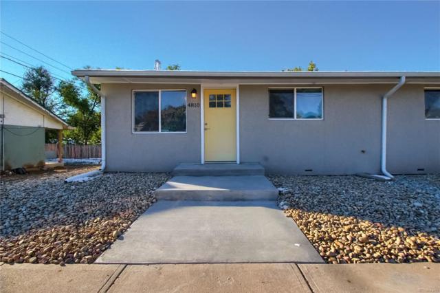 4814 W 8th Avenue, Denver, CO 80204 (#3284884) :: House Hunters Colorado