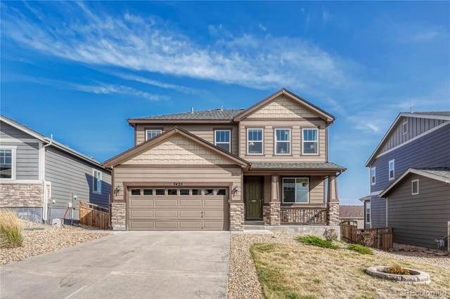 7423 Oasis Drive, Castle Rock, CO 80108 (#3287360) :: The DeGrood Team
