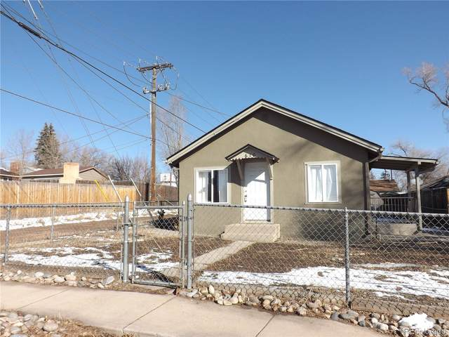 610 W Jackson Street, Colorado Springs, CO 80907 (#3292894) :: The Gilbert Group