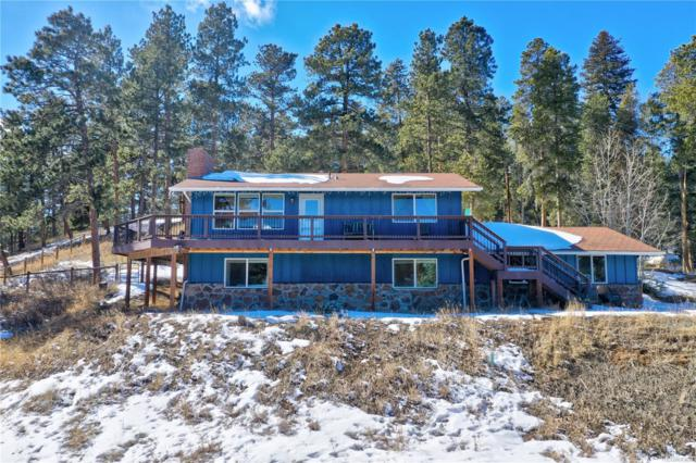 27685 Stagecoach Road, Conifer, CO 80433 (#3294096) :: The Healey Group