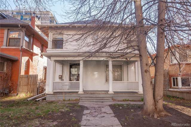 1638 Saint Paul Street, Denver, CO 80206 (#3294609) :: The DeGrood Team