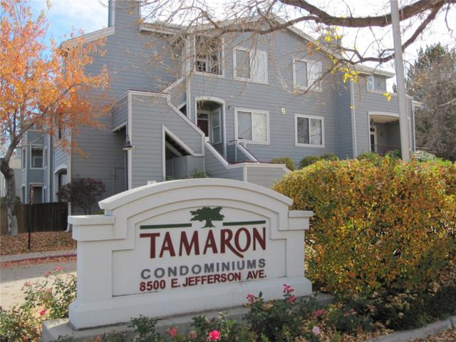 8500 E Jefferson Avenue 2A, Denver, CO 80237 (MLS #3295436) :: 8z Real Estate