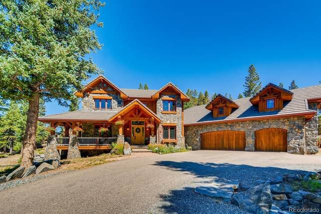 150 Outpost Lane, Evergreen, CO 80439 (#3296337) :: The DeGrood Team
