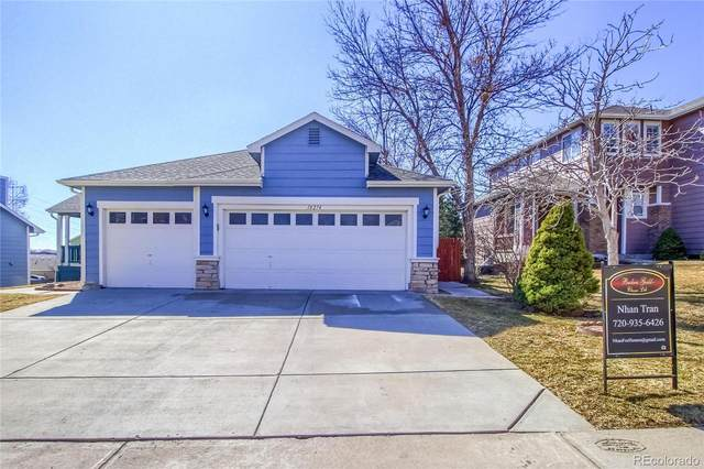 18274 E Adriatic Place, Aurora, CO 80013 (#3299456) :: The Brokerage Group