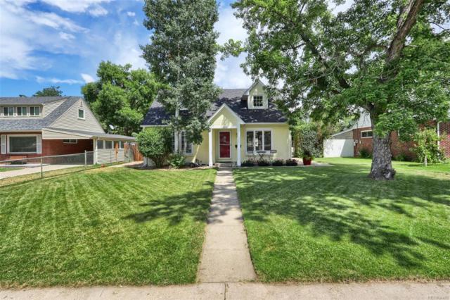 2880 S Vine Street, Denver, CO 80210 (#3300442) :: The Peak Properties Group