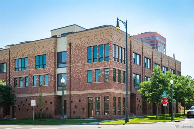 2200 Tremont Place #8, Denver, CO 80205 (MLS #3303839) :: Neuhaus Real Estate, Inc.