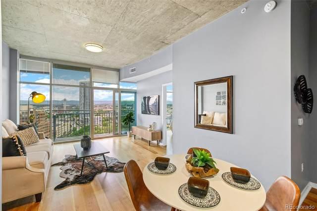 1700 Bassett Street #1605, Denver, CO 80202 (#3304915) :: West + Main Homes