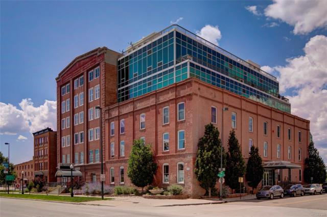 1143 Auraria Parkway #103, Denver, CO 80204 (#3305172) :: Mile High Luxury Real Estate