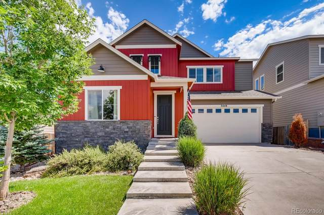 3448 Ghost Dance Drive, Castle Rock, CO 80108 (#3307246) :: The DeGrood Team