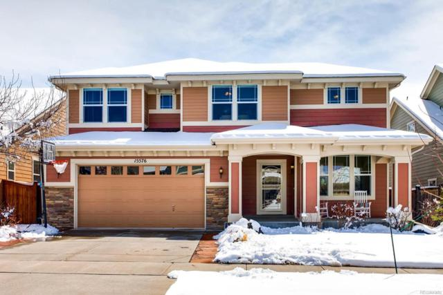15576 E Maiden Hair Lane, Parker, CO 80134 (#3307556) :: The Peak Properties Group