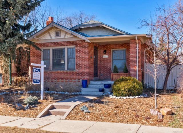 1257 Jackson Street, Denver, CO 80206 (#3308234) :: Hometrackr Denver