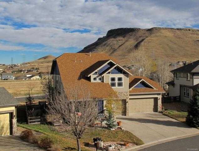 19434 W 56th Place, Golden, CO 80403 (#3309705) :: The DeGrood Team