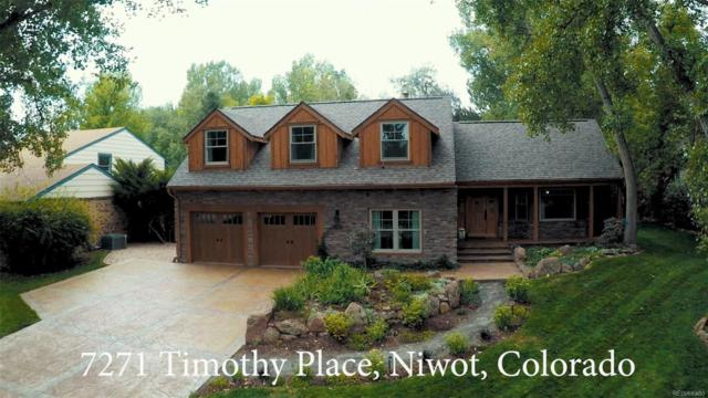 7271 Timothy Place, Niwot, CO 80503 (#3310245) :: The Peak Properties Group