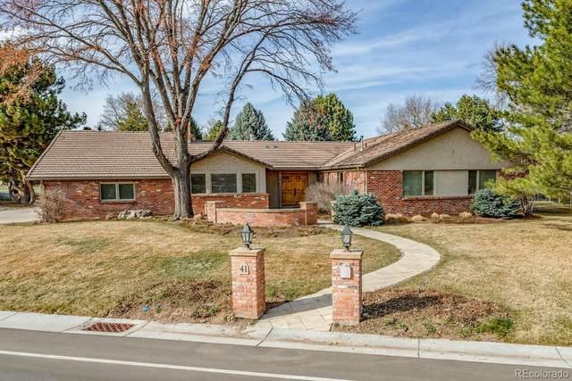 41 Fairway Lane, Littleton, CO 80123 (MLS #3312715) :: 8z Real Estate